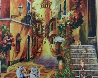 Galata tower lane, Taksim - art print