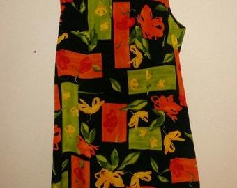 Vintage Floral A-line Dress