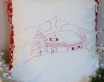 Mountain Chalet pillow