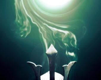 Samurai - The Spirit within - Emerald Green
