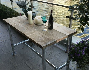Industrial Scaffold Bar Table