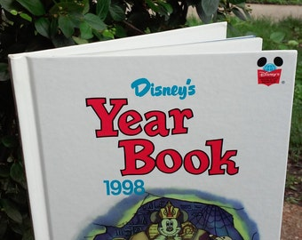 Vintage Disney Yearbook 1998