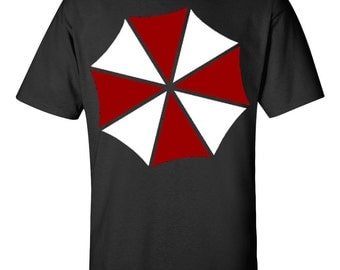 Umbrella Corporation Resident Evil 1 2 3 Unisex  T-Shirt Black
