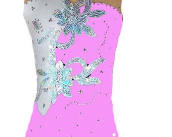 RG - Leotard , competition  rhythmic gymnastics leotard , acrobatics suit, Acrobatic Rock'n'Roll, Twirling dance dress