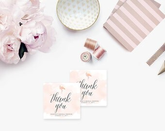 Printable Bridal Shower Gift Tags / Customized Favor Tags, Thank You Tags - Harper