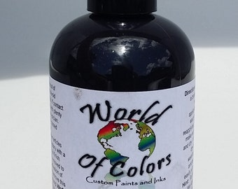 Black Goddess Pearlescent World of Colors Acrylic Paint
