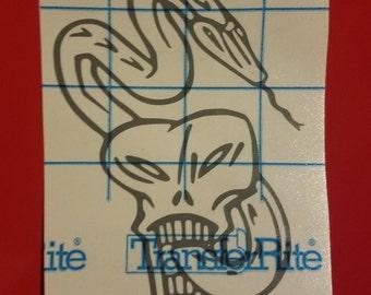 Harry Potter Dark Mark Vinyl Sticker!
