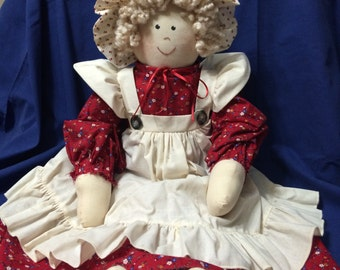 Handmade Country Doll Collectible
