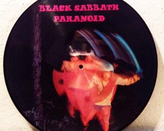 Black Sabbath Paranoid Picture Disc LP Vintage Vinyl Record