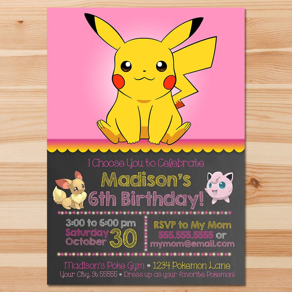 It is an image of Légend Printable Pokemon Invitations