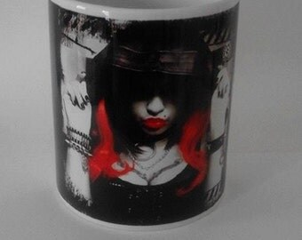 "Ceramic mug ""Little dark"""