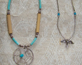 Native American Necklace and Bracelet set