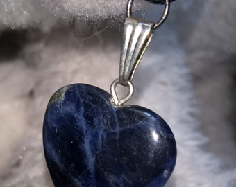 Sodalite Heart Necklace