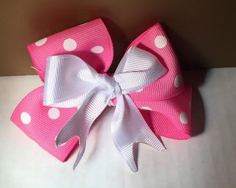 Pinky Pink Bow