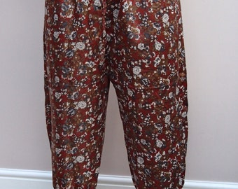 Patterned Hareem Pants