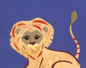 Baby Boy Lion Nursery, Safari Baby Girl, Jungle Nursery, baby room decor ideas, animal nursery art, cute lion wall art, safari nursery