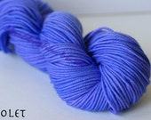 Elevenses DK Yarn Mini Skein, Violet CLEARANCE
