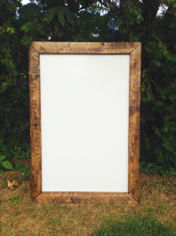 Framed Dry Erase Board Rustic Dry Erase Board Rustic Whiteboard Dry Erase Board