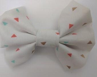 Colorful Triangle Fabric Bow
