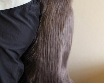 Charcoal Canine Tail