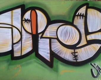 Oner graffiti design