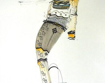 Crux - fashion sketch