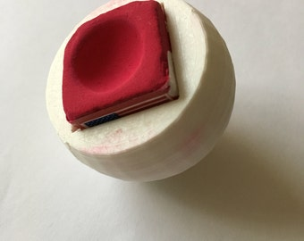 Cue Ball Chalk Holder