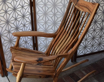 Maloof Style Rocking Chair - Myrtle
