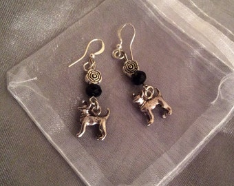 Chihuahua earrings, Chi gift,  Chihuahua jewelry, Chihuahua jewellery, Chihuahua gift for her, chi drops, chi earrings,  Chiwawa earrings