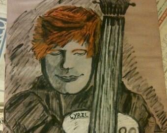 Ed Sheeran Painting