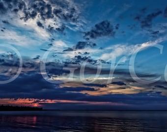 Sunrise - Landscape Photography - Lake Michigan