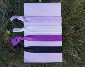 Hair Tie Set: Purplepalooza