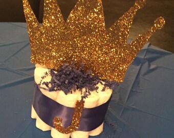 Royal Theme Diaper Cake
