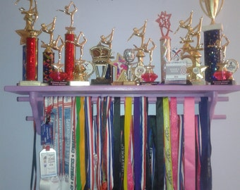 Medal Hanger and Trophy shelves