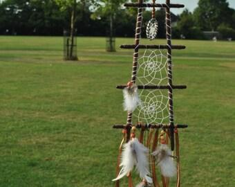 Wall Hanging - Ladder Boho Chic Dreamcatcher - Dream Catcher - Handmade