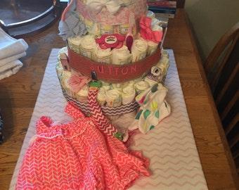 Customized Diaper Cake