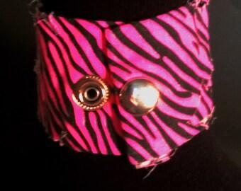 Snap Wristband Bracelet