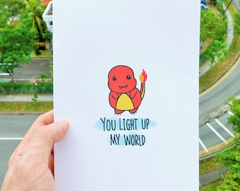 Pokemon Greeting Card (Charmander)!