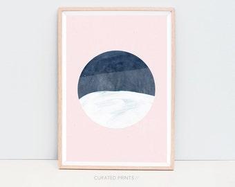 Digital Prints, Minimalist Art, Abstract Printable, Digital Art, Art Download, Pink Modern Art, Modern Digital Print, Printable Art, Pink