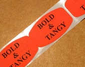 SALE, 80 bold and tangy stickers