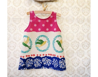 The Francie Dress - Size 2T - One of a Kind - Ready to Ship