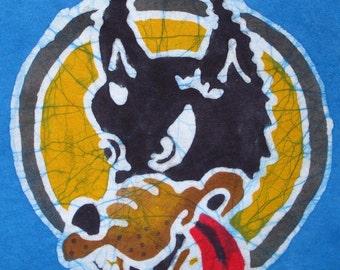 Jerry Garcia Wolf Handmade Batik Jerry Garcia Wolf T-shirt
