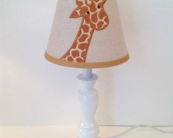 giraffe applique lamp shade - Giraffe Lamp