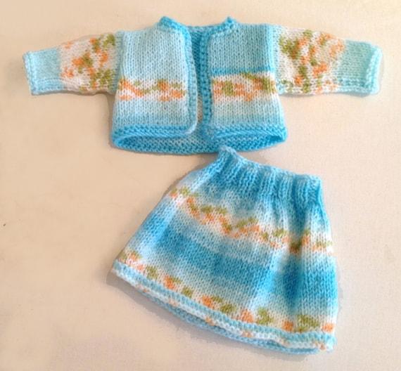 18 inch Knit Pattern Knit Doll Clothes PDF Knit Doll
