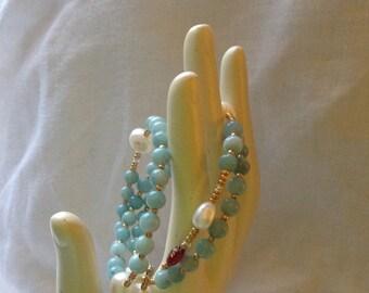 Ocean Mist Wrap-Around-a-Rosary