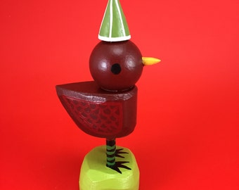 here comes santa bird