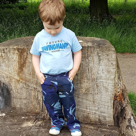 Kids SHORTS and Pants Sewing Pattern PDF - Boys and Girls