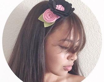 Felt Flower Crown / Flower Headband