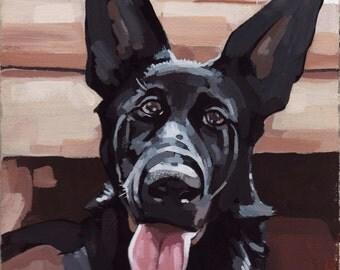"Custom Pet Portrait 11x14"""
