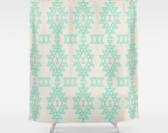Boho shower curtain – Etsy